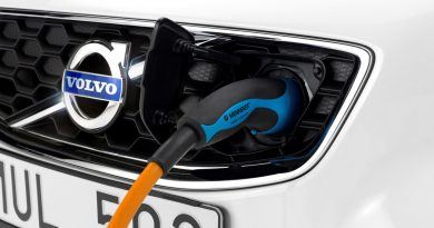 Electric Volvo Plug - Charging