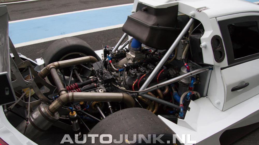 For Sale: Incredible 680 HP Mid-engine V8 Volvo S60 Race Car