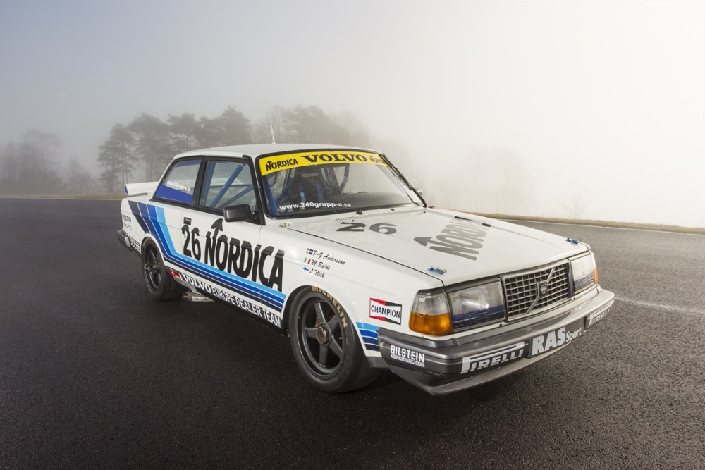 Classic Iron: Volvo 242 Group A Race Car Up For Sale