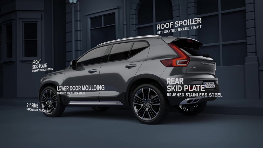 Video 2019 Volvo Xc40 Exterior Styling Kit Revealed