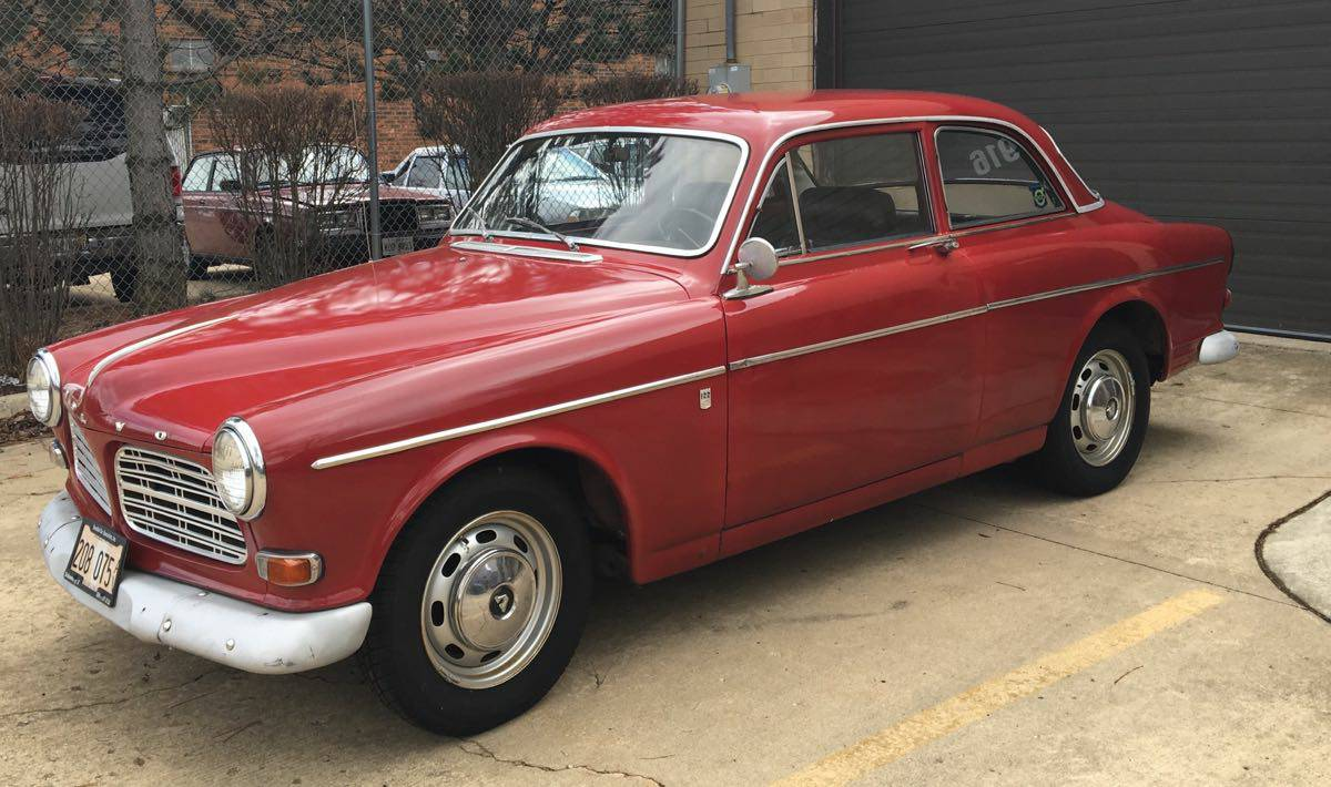1967 Volvo Amazon (Sorry- a 122S) Lands on Craigslist