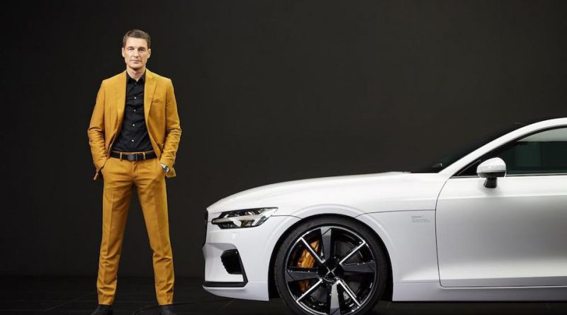 Thomas Ingenlath and the Volvo Polestar 1