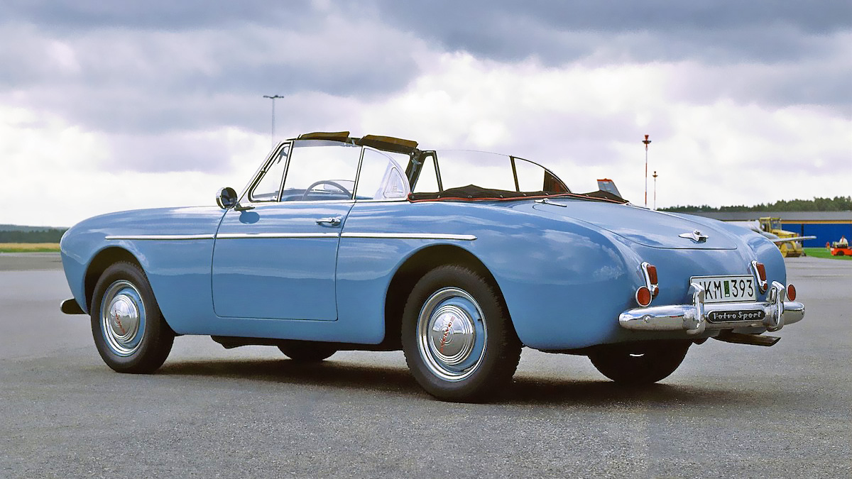 Classic Iron: The Volvo P1900 Sport Was Swedenu0027s First Sports Car