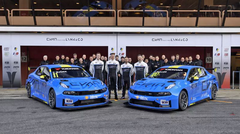 Cyan Racing Lynk & Co 2019 Race Team